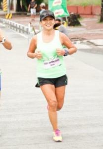 celebrating my 55th birthday by clocking in a sub-5 for my 4th milo marathon