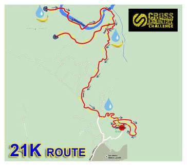 21K route