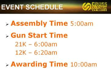 event sked