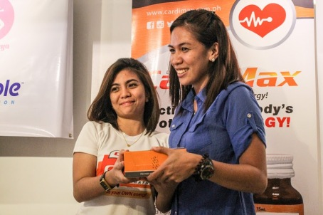 Team Rescue 8's Arlene won one month supply of Cardimax