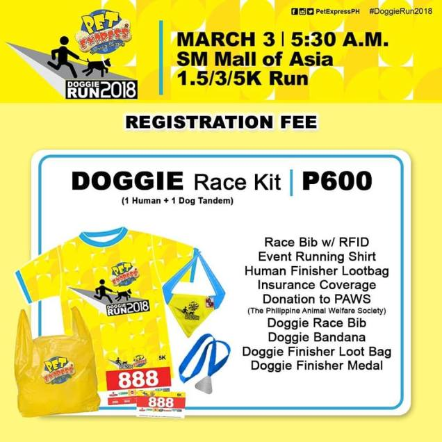 doggie race kit