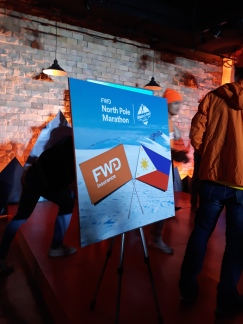 The FWD-PH partnership for the North Pole Marathon