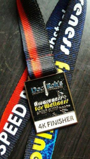 4K medal